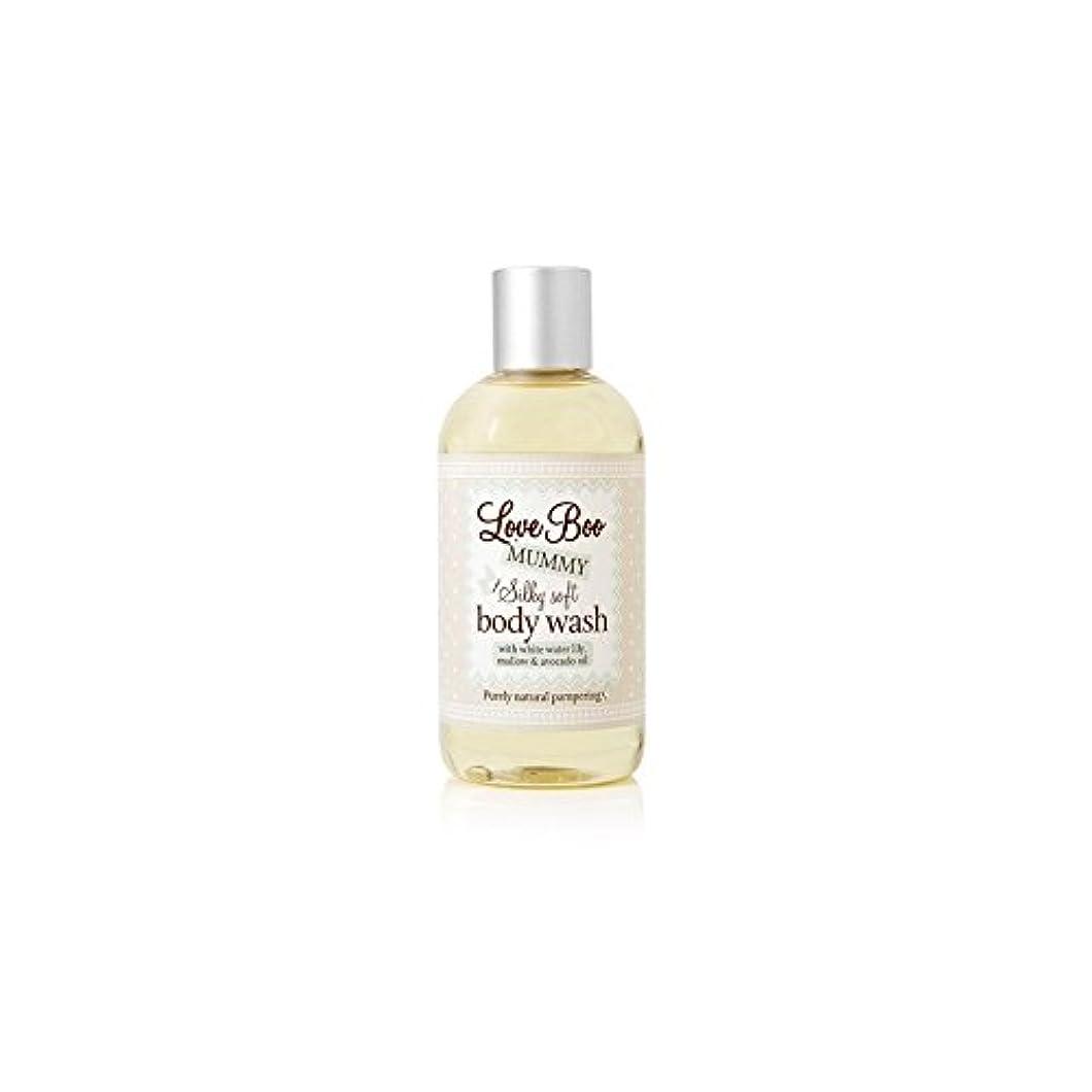 味コンペ好きLove Boo Silky Soft Body Wash (250ml) (Pack of 6) - 絹のようなソフトボディウォッシュ(250ミリリットル)愛 x6 [並行輸入品]