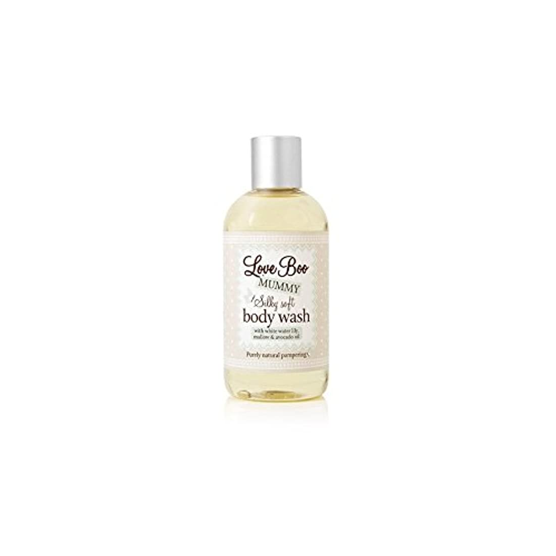 発送乳剤回転絹のようなソフトボディウォッシュ(250ミリリットル)愛 x4 - Love Boo Silky Soft Body Wash (250ml) (Pack of 4) [並行輸入品]