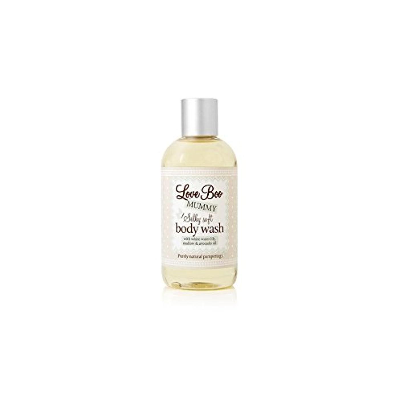 ラジウムグラディス孤児Love Boo Silky Soft Body Wash (250ml) (Pack of 6) - 絹のようなソフトボディウォッシュ(250ミリリットル)愛 x6 [並行輸入品]