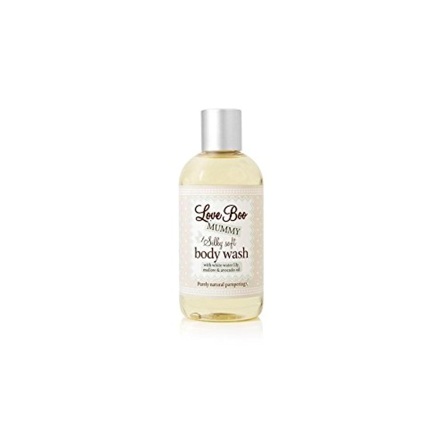 ホテルわかるスキッパーLove Boo Silky Soft Body Wash (250ml) (Pack of 6) - 絹のようなソフトボディウォッシュ(250ミリリットル)愛 x6 [並行輸入品]