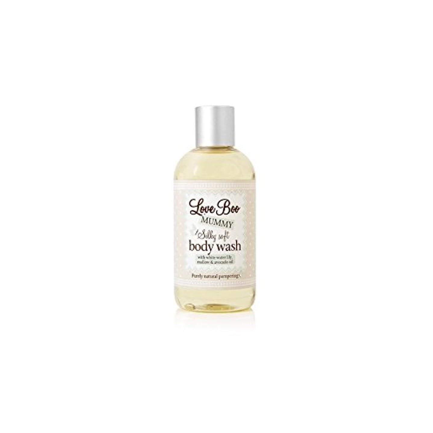 仲介者有毒ヒールLove Boo Silky Soft Body Wash (250ml) (Pack of 6) - 絹のようなソフトボディウォッシュ(250ミリリットル)愛 x6 [並行輸入品]