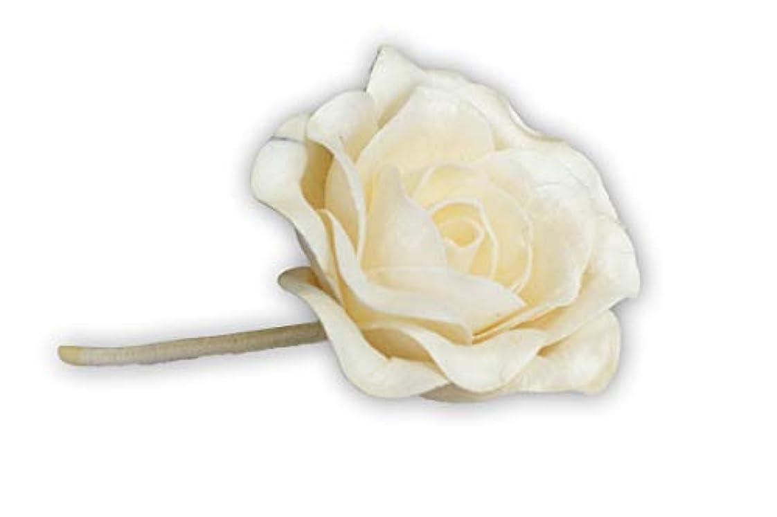 優遇普及寝室MAYA フラワーディフューザー ソラフラワー ローズ (8cm) [並行輸入品] | Aroma Flower Diffuser Sola Flower - Rose