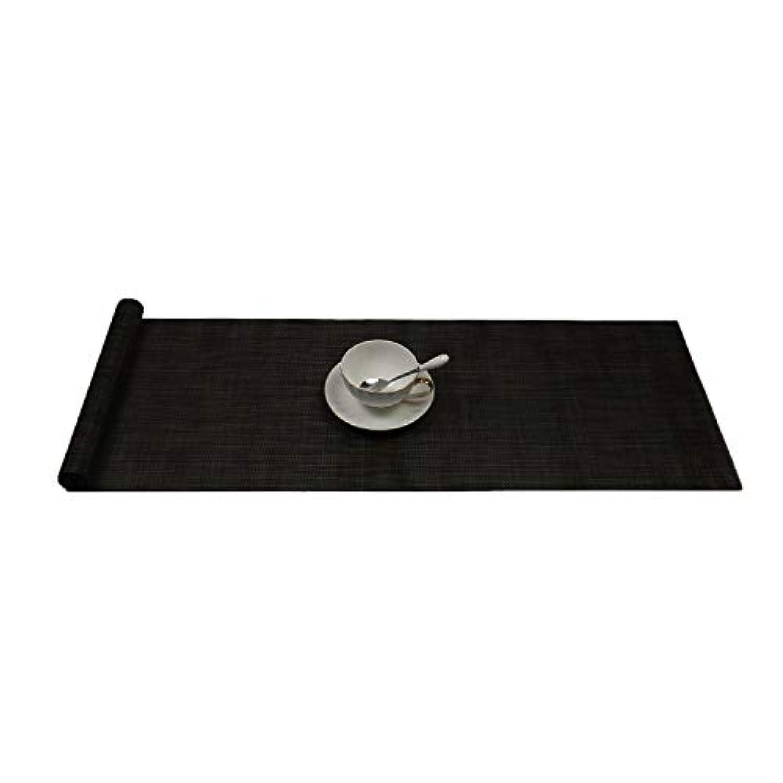 1枚セット ラウン テーブルランナー 食卓飾り プレースマット 撥水防汚断熱 お食事マット 滑り止め PVC製 スタイリッシュ典雅 ブ