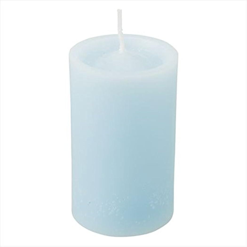 三角抜け目がない子供っぽいカメヤマキャンドル(kameyama candle) ロイヤルラウンド60 「 ライトブルー 」