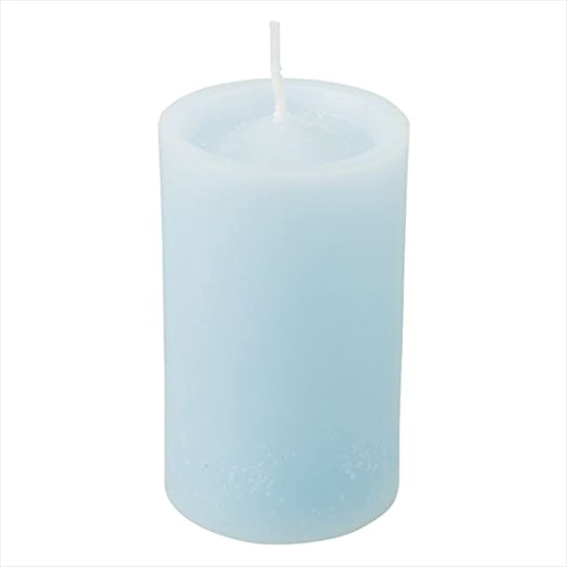 案件太平洋諸島追加カメヤマキャンドル(kameyama candle) ロイヤルラウンド60 「 ライトブルー 」