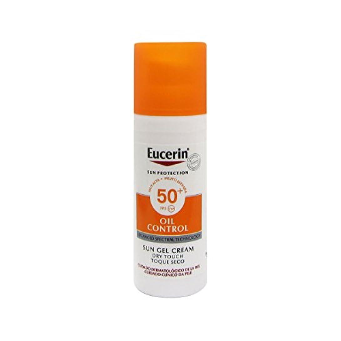 対家動的Eucerin Sun Face Oil Control Gel-cream Spf50 50ml [並行輸入品]