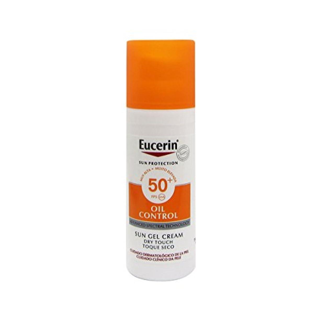 オーラルダンス彼女Eucerin Sun Face Oil Control Gel-cream Spf50 50ml [並行輸入品]