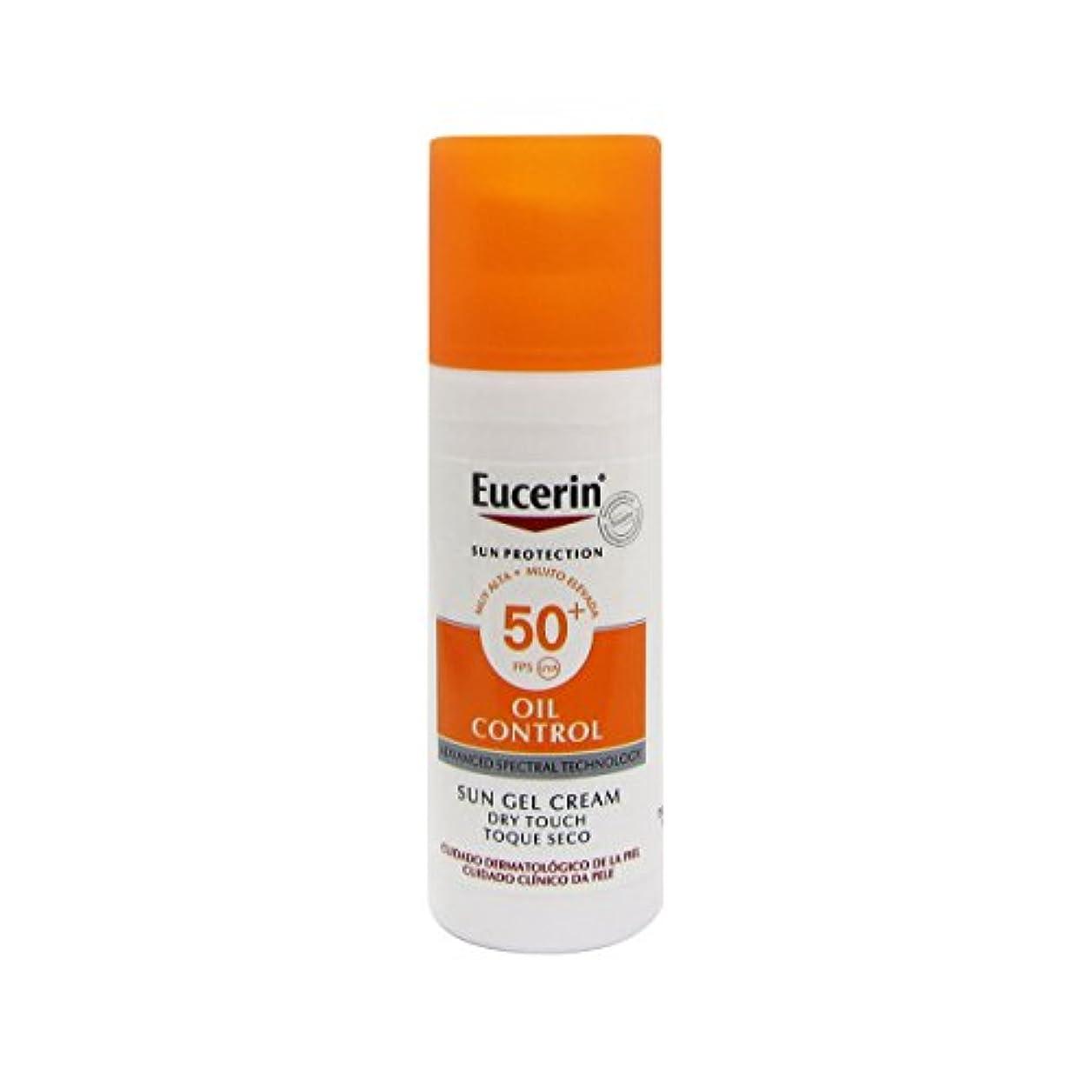 誰の好きマイルドEucerin Sun Face Oil Control Gel-cream Spf50 50ml [並行輸入品]
