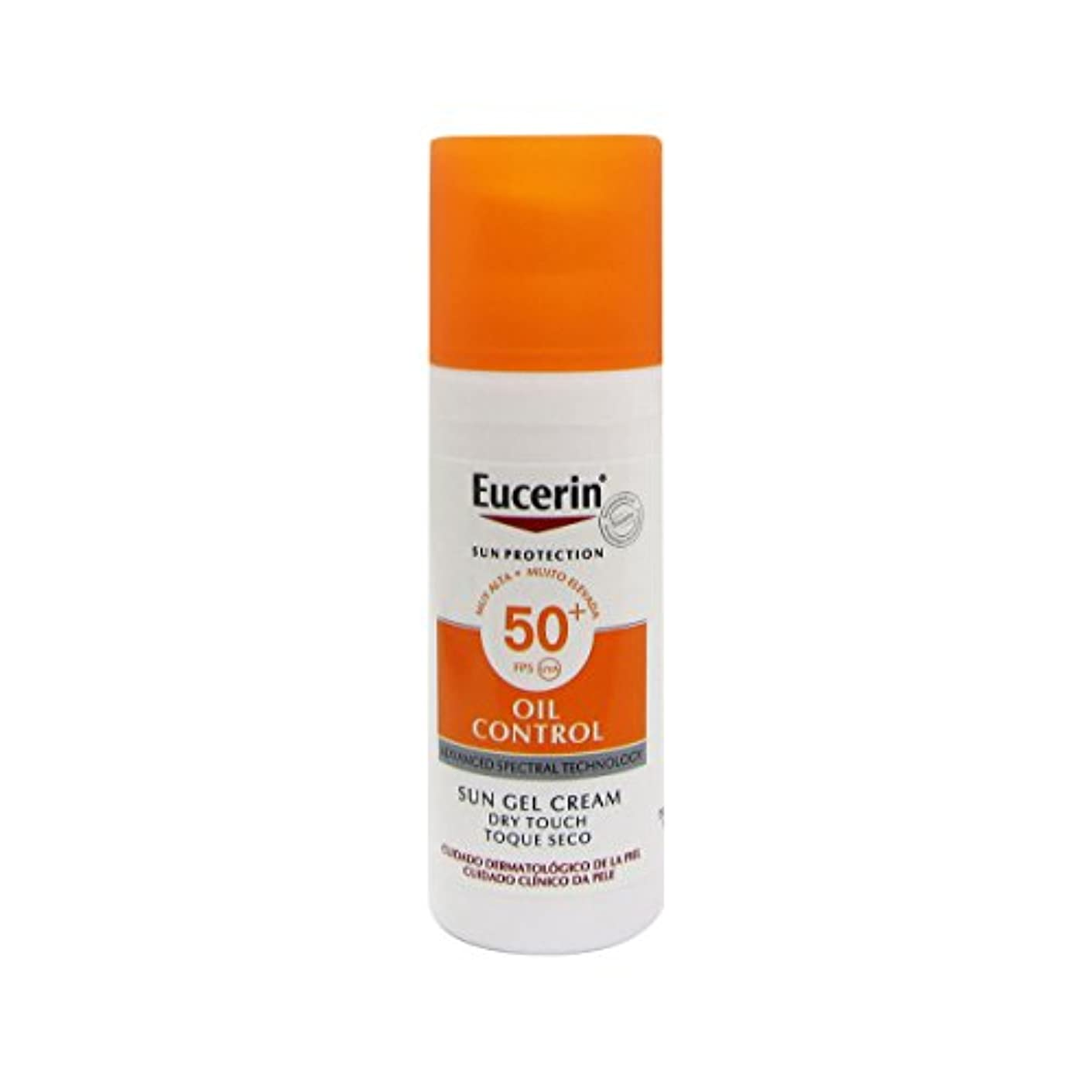 アーチ誓い最も早いEucerin Sun Face Oil Control Gel-cream Spf50 50ml [並行輸入品]
