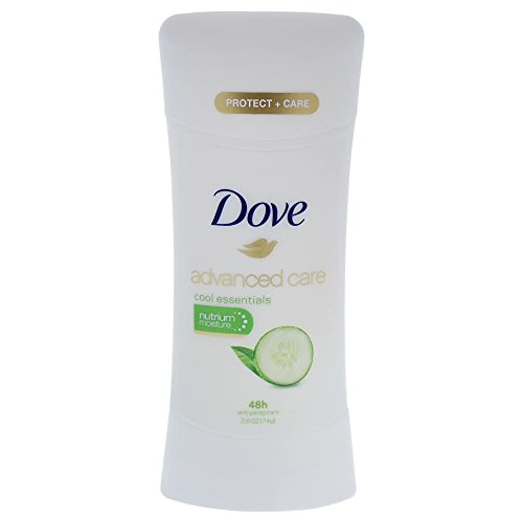 ワーカーお世話になった議会Dove Advanced Care Cool Essentials Deodorant - 2.6oz ダブ アドバンスド ケア クールエッセンシャル デオドラント 74g [並行輸入品]