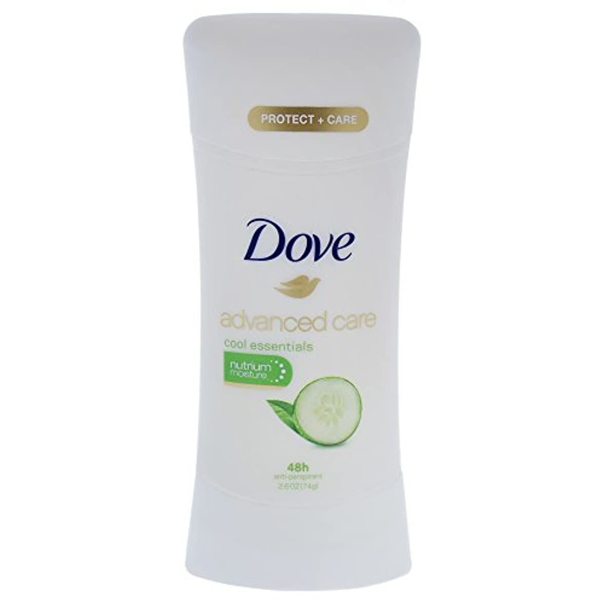 無駄な失礼なメタリックDove Advanced Care Cool Essentials Deodorant - 2.6oz ダブ アドバンスド ケア クールエッセンシャル デオドラント 74g [並行輸入品]
