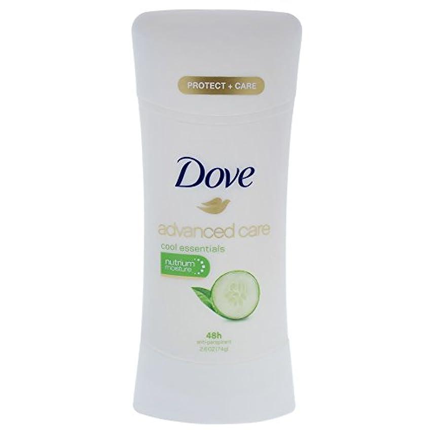 叫ぶストレス推論Dove Advanced Care Cool Essentials Deodorant - 2.6oz ダブ アドバンスド ケア クールエッセンシャル デオドラント 74g [並行輸入品]