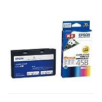 【純正品】 エプソン(EPSON) インクカートリッジ 4色セット1体型(大容量) 型番:ICCL45B 単位:1個 dS-1097544
