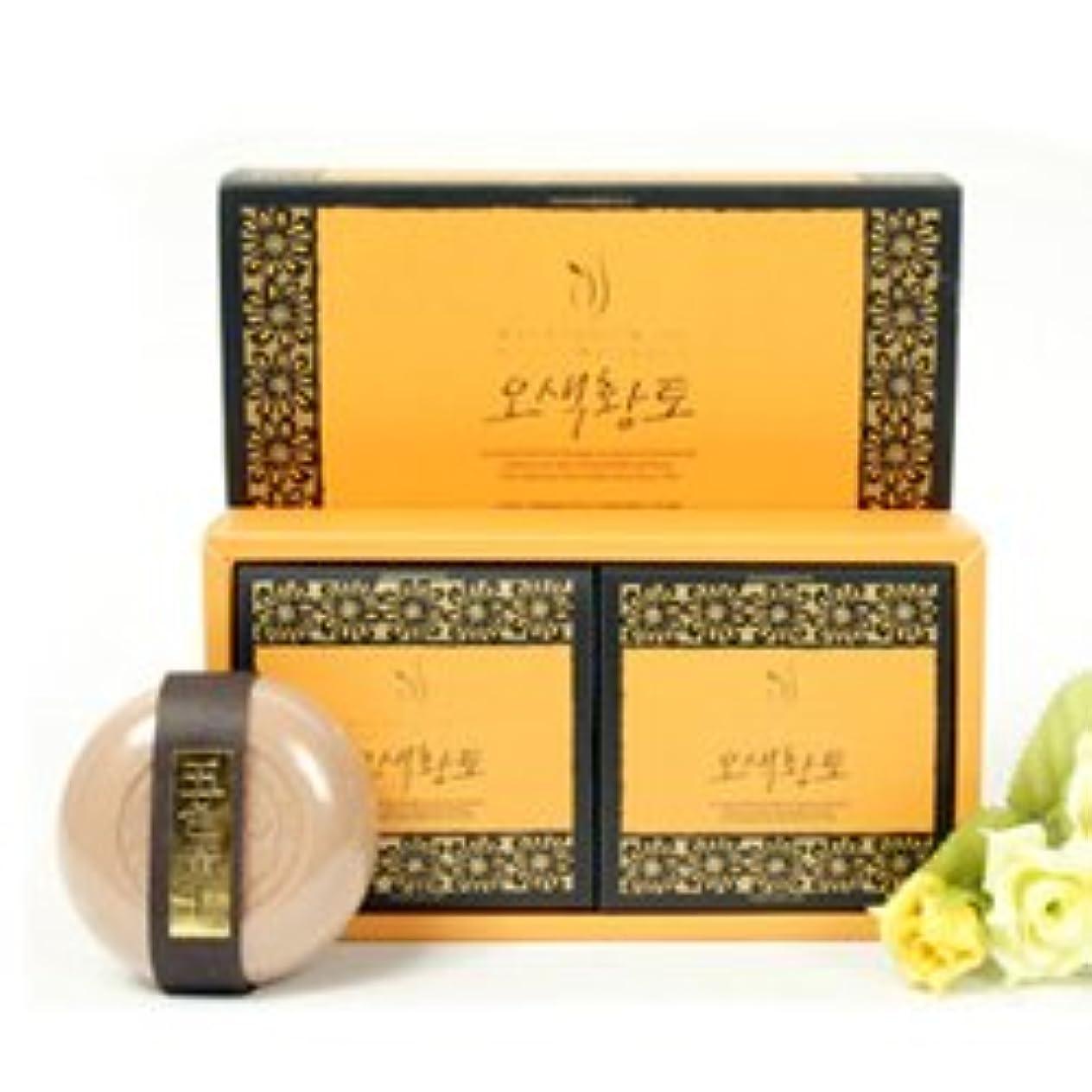 年次マイルストーン提供されたソンハク 五色黄土石鹸 (110g*2個) [海外直送品][並行輸入品]