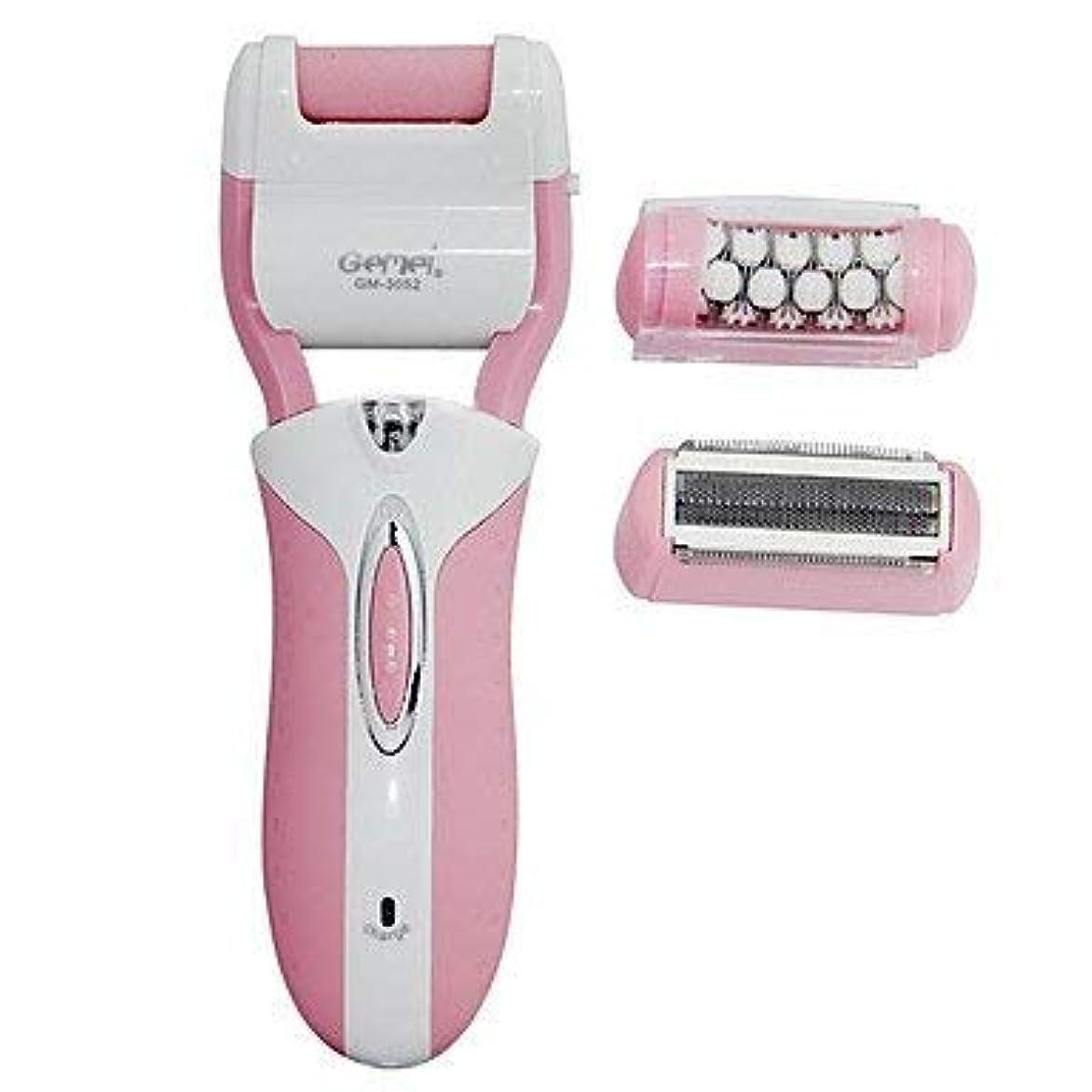 融合ポーズ国勢調査HPYOD HOME 脱毛器の女性ボディ電気低雑音の乾燥した髭そりのステンレス鋼の赤面ピンク