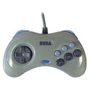 """復刻版セガサターンコントロールパッド for """"PlayStation2"""" グレー"""