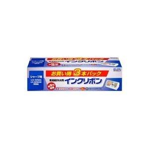 [해외](업무용 3 세트) 아사히 전기 ELPA 일반 용지 FAX 리본 FIR-SR8-3P 3 개 × 3 세트 [간이 포장 제품]/(3 sets for business) Asahi Electric ELPA plain paper FAX ribbon FIR-SR 8-3 P 3 x 3 sets [Simple package]