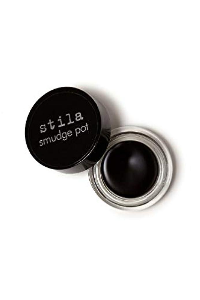 ピボットオゾン連続的Stila Smudge Pot - Black 0.14oz