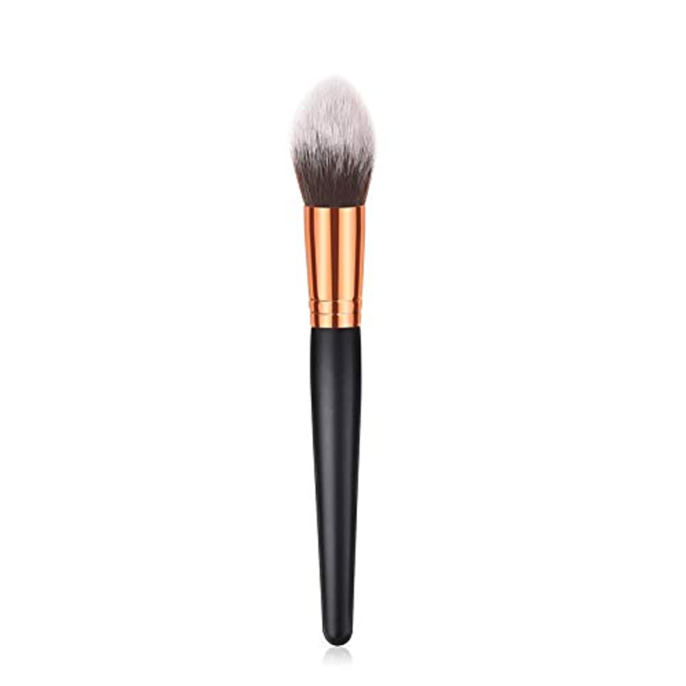 Symboat 1 / 10pcs化粧ブラシ木製ハンドルソフトナイロンヘアーメイクアップツール女性用