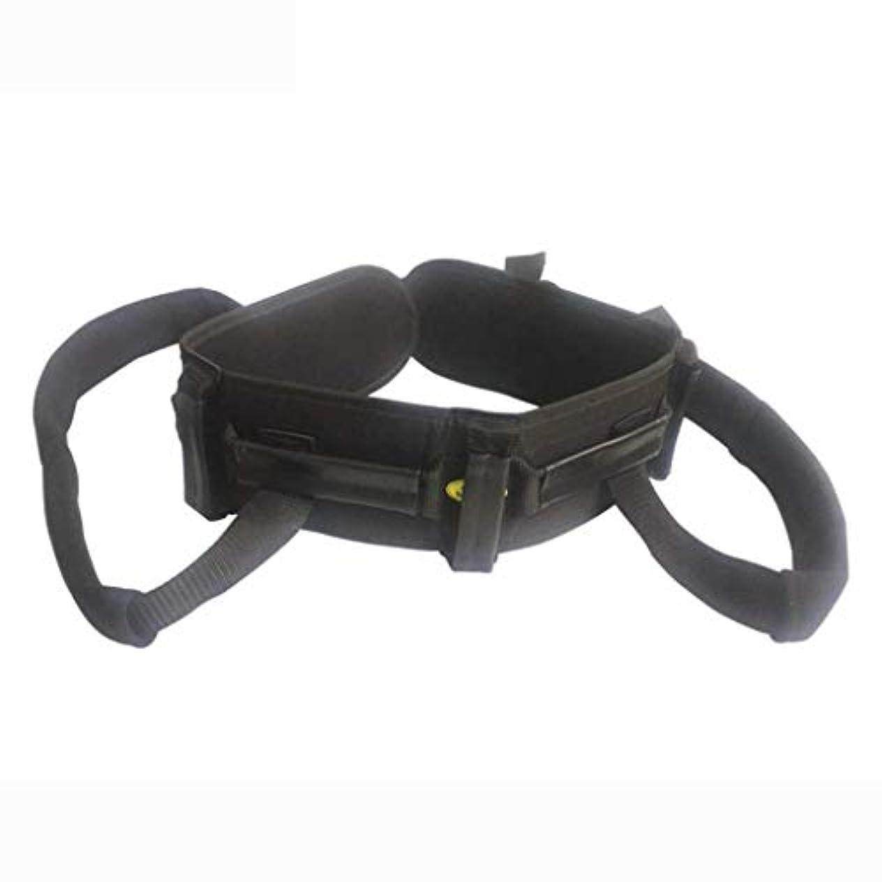 リンク基本的な破裂歩行ベルトトランスファーベルト付きレッグループ医療用リフトスリング患者ケア安全ウォーキングヘルスナーシングベルト歩行補助器具