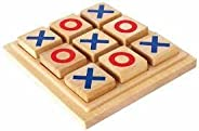 Myesha Toys Classic Board Games Tic Tac Toe, Noughts And Crosses, Brain Teaser, Puzzle, Coffee Table For Famil
