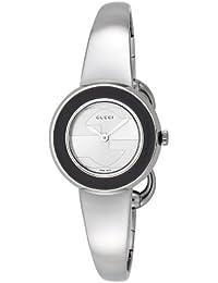 [グッチ]GUCCI 腕時計 U-PLAY シルバー文字盤 付替用革ベルト&ベゼルセット YA129516-SET-BKBG レディース 【並行輸入品】