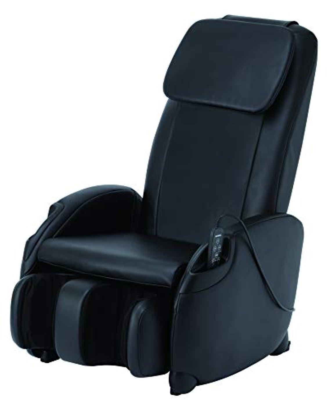 拒否二知事スライヴ マッサージチェア くつろぎ指定席Light CHD-3400 ブラック