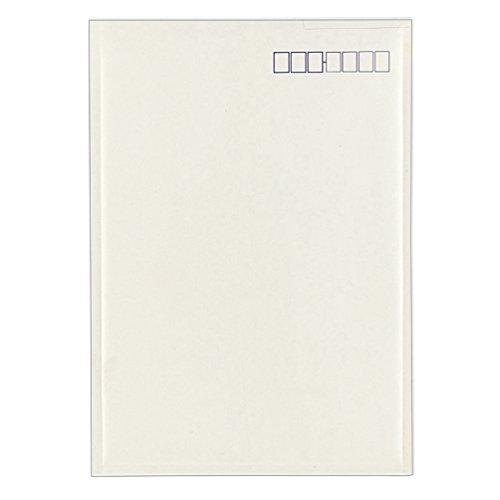 [해외]코쿠 요 소포 봉투 경량 타입 입 접착제가있는 A4 흰색 호프 -15/Kokuyo parcel envelope light weight type with mouth paste A4 white hoff -15