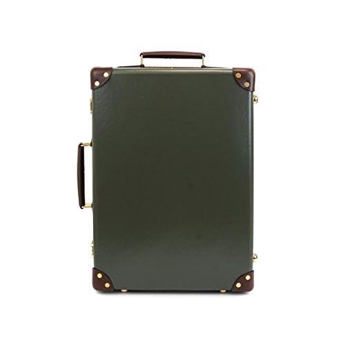 GLOBE TROTTER グローブトロッター Green/Tan センテナリー 18インチ [並行輸入品]