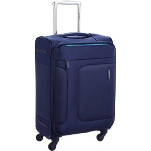 [サムソナイト] SAMSONITE ASPHERE / アスフィア スピナー55 (55cm/39L/2.4Kg) (スーツケース・ソフトケース・トラベル・機内持込サイズ・軽量・大容量・エキスパンダブル・TSAロック装備・保証付) 72R*01001 01 (ブルー)