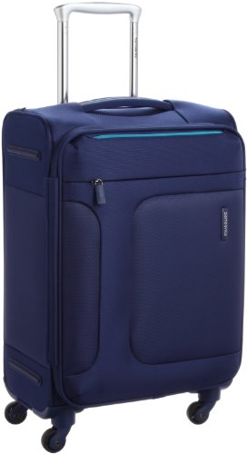 [サムソナイト] SAMSONITE ASPHERE/アスフィア スピナー55 (55cm/39L/2.4Kg) (スーツケース・ソフトケース・トラベル・機内持込サイズ・軽量・大容量・エキスパンダブル・TSAロック装備・保証付) 72R*01001 01 (ブルー)