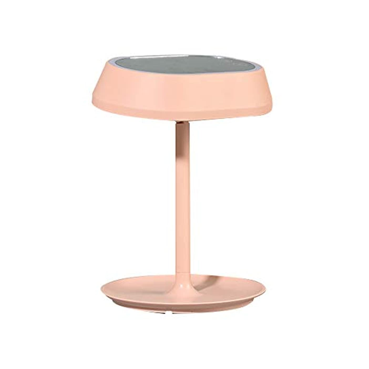 避難する茎アート流行の 新しい卓上スタンドは塗りつぶしの軽い化粧鏡のデスクトップの化粧台ミラーを導きました