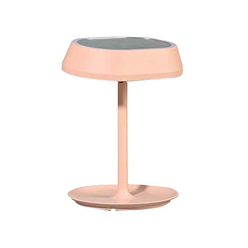 ハンサムモチーフ輪郭流行の 新しい卓上スタンドは塗りつぶしの軽い化粧鏡のデスクトップの化粧台ミラーを導きました