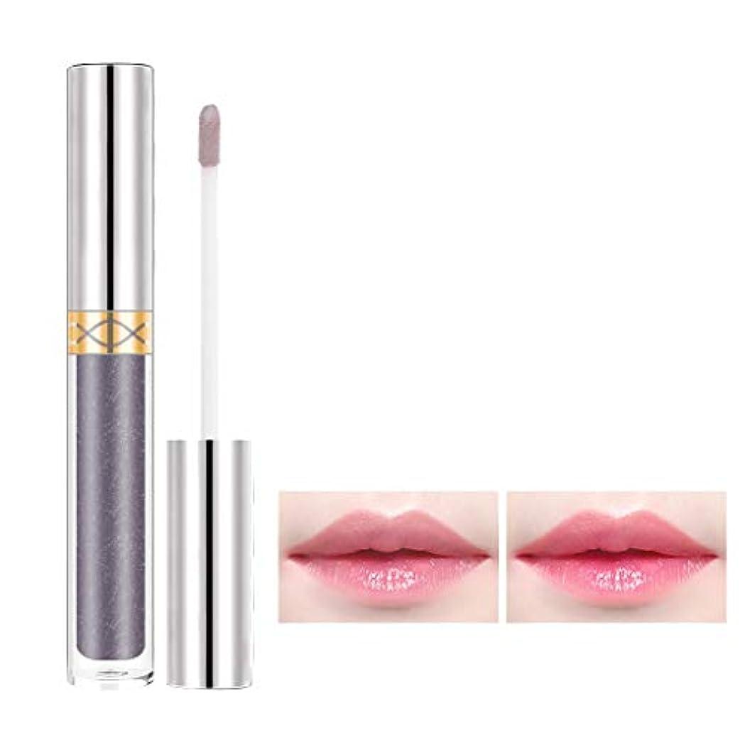 文字ランプ質素な長続きがする保湿の花の光沢がある美の口紅を変える唇の光沢色 (G)