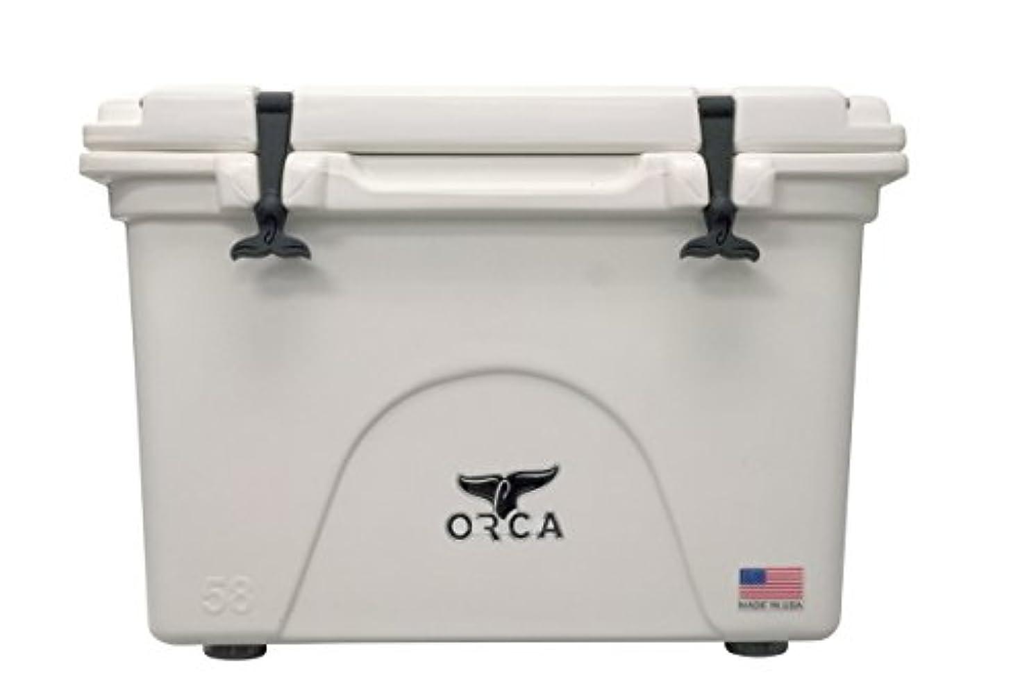より平らな救出男性ORCA(オルカ) Whittle 58Quart Cooler ホワイト【日本正規品】