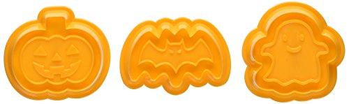 貝印 ハロウィン クッキー型 3個セット コウモリ カボチャ...