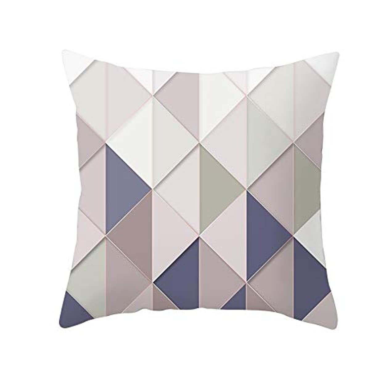 しっとりエネルギーはっきりとLIFE 装飾クッションソファ 幾何学プリントポリエステル正方形の枕ソファスロークッション家の装飾 coussin デ長椅子 クッション 椅子