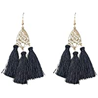 Colette Hayman - Filigree Tassel Statement Earrings