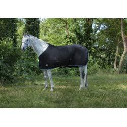 EKKIA(エキア) 乗馬用具 ブラック&ブルー ETH.FLE.RUG POLYF.BLK/SBLU.6'6 400720266 400720266