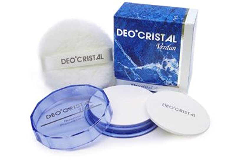 バッジ排他的ピアニスト㈱ヴェルダン デオクリスタル-プレストパウダー(V):24g  医薬部外品