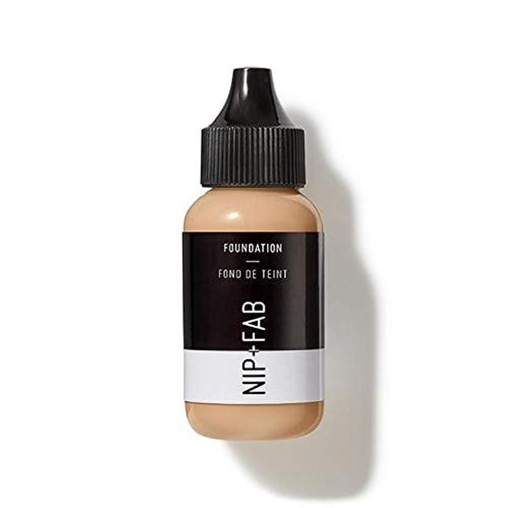 [Nip & Fab ] 基礎30ミリリットル20を構成するFab +ニップ - NIP+FAB Make Up Foundation 30ml 20 [並行輸入品]