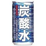 【2ケースセット】サンガリア 炭酸水185ml缶×30本入×(2ケース)