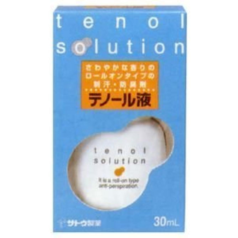 空白喪貝殻佐藤製薬 テノール液(30ml)×2