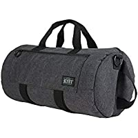 Lockable 20 Inch ProDuffle Carbon Series Bag with Odor Protection Black