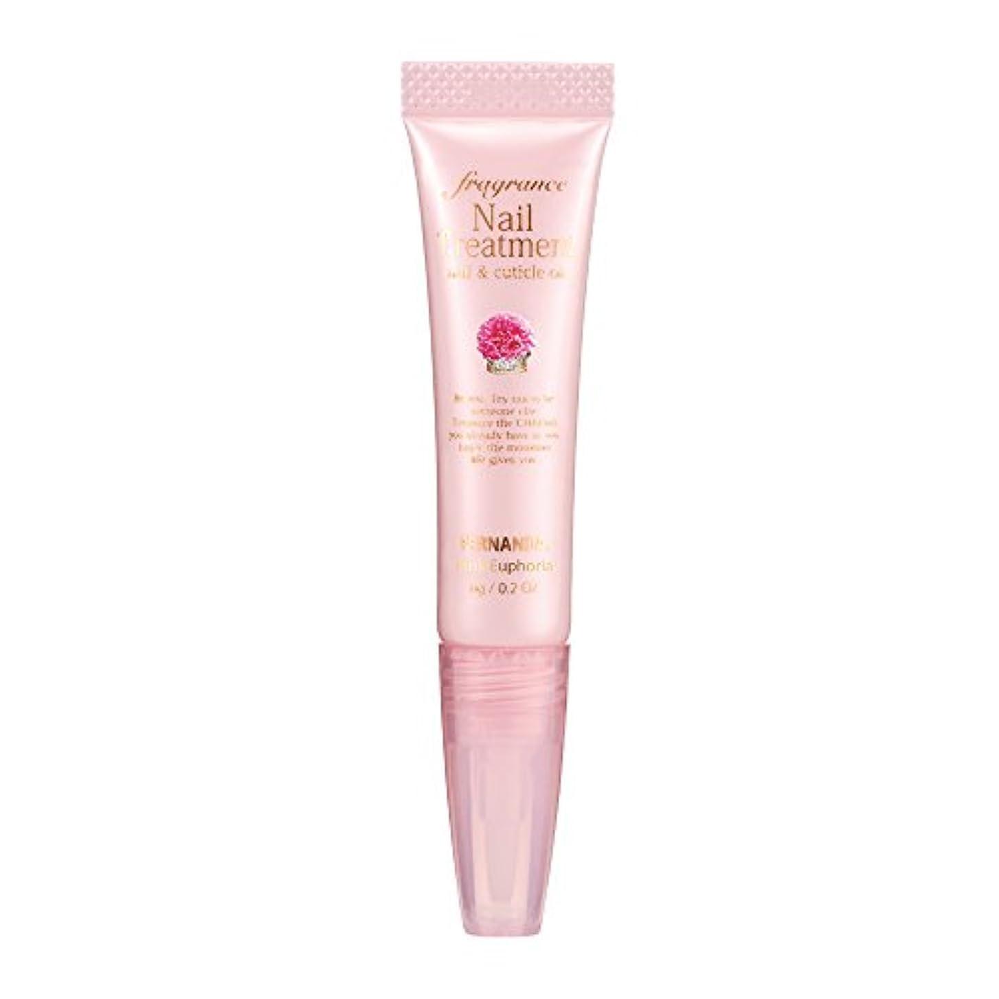 カルシウムキャンドル死んでいるFERNANDA(フェルナンダ) Fragrance Nail Treatment Pink Euphoria (ネイルトリートメント ピンクエウフォリア)