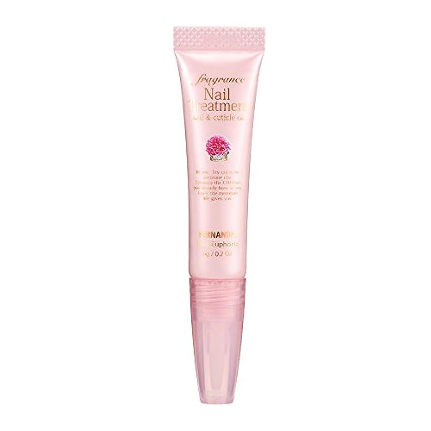 垂直資金脅威FERNANDA(フェルナンダ) Fragrance Nail Treatment Pink Euphoria (ネイルトリートメント ピンクエウフォリア)