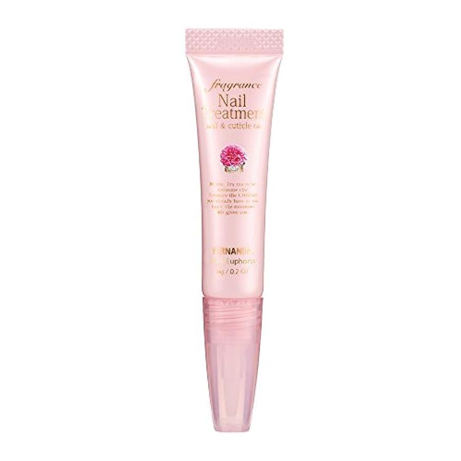 線コットン販売員FERNANDA(フェルナンダ) Fragrance Nail Treatment Pink Euphoria (ネイルトリートメント ピンクエウフォリア)