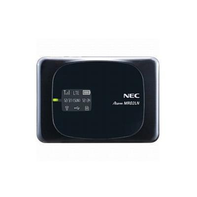 NEC Aterm MR02LN 5B モバイルルーター ブラック