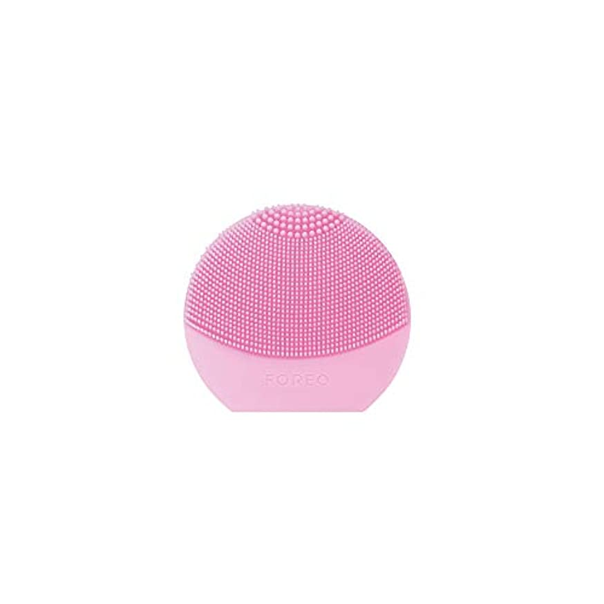 FOREO LUNA Play Plus パールピンク シリコーン製 音波振動 電動洗顔ブラシ 電池式