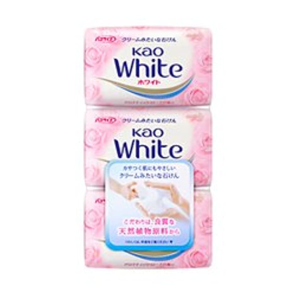 パイプラインタックルオゾン【花王】花王ホワイト アロマティックローズの香り バスサイズ (130g×3個) ×20個セット